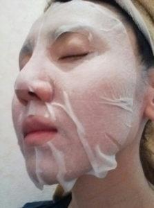 輝肌マスク エコライフ シートマスク オールインワン
