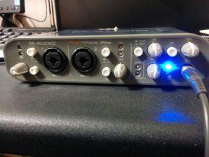 AIF オーディオインターフェース M-AUDIO ファーストトラックプロ