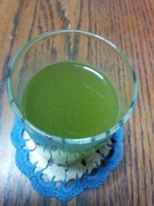 めっちゃたっぷりフルーツ青汁 お水