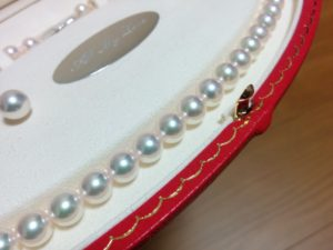 ミキモト 真珠 ネックレス イヤリング 冠婚葬祭用 MIKIMOTO